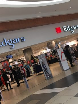 Edgars a threat to mall landlords.